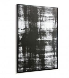 Tablou alb/negru din lemn 80x120 cm Yukon La Forma