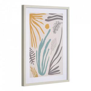 Tablou multicolor din canvas si MDF 50x70 cm Kamara Kave Home