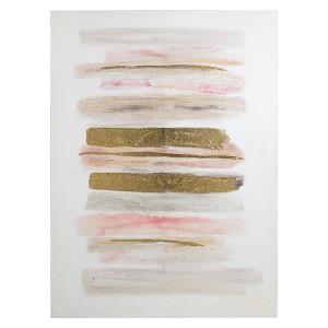 Tablou multicolor din lemn de pin 90x120 cm Abstract Santiago Pons