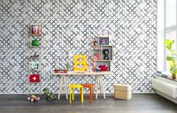 Tapet Patchwork Play Grey Rebel Walls