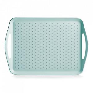 Tava dreptunghiulara albastru aqua din plastic 32x45,5 cm Zina Zeller