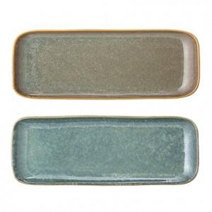 Tava multicolor din ceramica 25,5x9,5 cm Aime Bloomingville