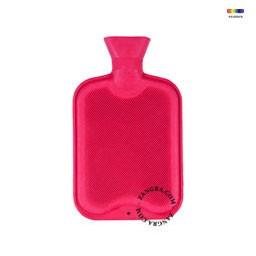 Termofor roz din cauciuc 1 L Large Pink Briana Zangra