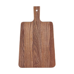 Tocator dreptunghiular cu maner lemn de alun 22x35 cm House Doctor