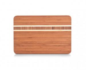 Tocator dreptunghiular maro din lemn 20x30 cm Modern Cutting Board Zeller