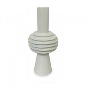 Vaza alba din ceramica 31 cm Gayatri Opjet Paris