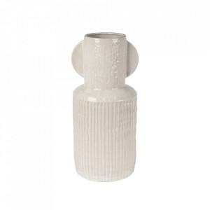 Vaza alba din ceramica 44 cm Jacob Lifestyle Home Collection