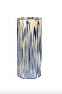 Vaza albastra/alba din ceramica 38 cm Ocean High Versmissen