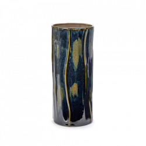 Vaza albastra din ceramica 34,2 cm Reves Serax