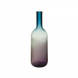 Vaza albastra din sticla 38 cm Crystal Santiago Pons