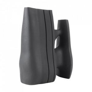 Vaza decorativa neagra din ceramica 41 cm Linked Versmissen