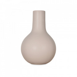 Vaza gri din ceramica 23 cm Tobi Opjet Paris