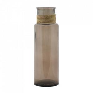 Vaza maro din sticla 45 cm Noa Mauro Ferretti