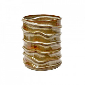 Vaza multicolora din ceramica 25 cm Terres de Reves Serax