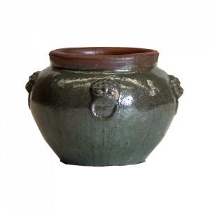 Vaza multicolora din ceramica 37 cm Selegha Amphora Vical Home