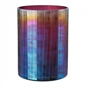 Vaza multicolora din sticla 24 cm Hurricane Oily L Pols Potten