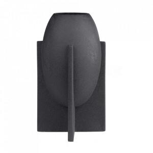Vaza neagra din ceramica 28 cm Ovo Versmissen