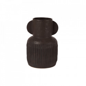 Vaza neagra din ceramica 31 cm Jacob Lifestyle Home Collection