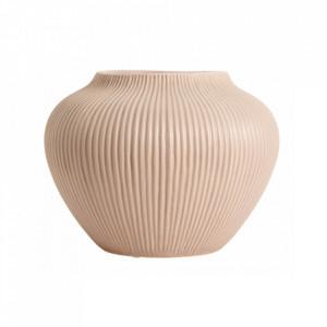 Vaza roz din ceramica 26 cm Hano Nordal