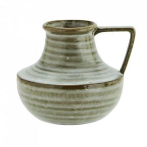 Vaza verde din ceramica 16,5 cm Samoussy Madam Stoltz