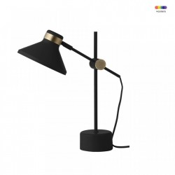 Veioza neagra din metal 44 cm MR Frandsen Lighting