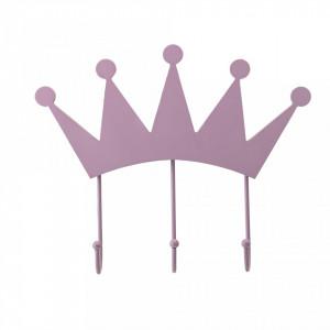 Cuier roz din metal Crown Bloomingville