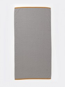 Prosop din bumbac gri 70x140 cm Sento Ferm Living