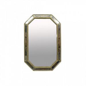 Oglinda aurie din polirasina 27x45 cm Rectangle Objet Paris