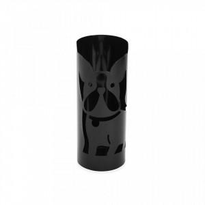 Suport negru din metal pentru umbrela 49 cm Black Umbrella Versa Home