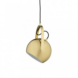 Lustra maro alama din metal Brass Pendant Frandsen Lighting
