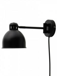 Aplica neagra din metal Job Mini Frandsen Lighting