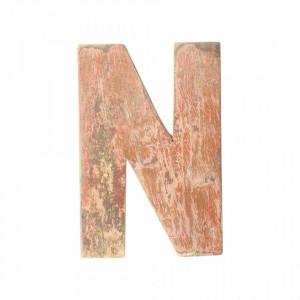 Decoratiune maro din lemn 18 cm N Raw Materials