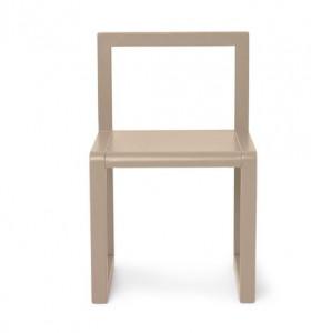Scaun crem din lemn Little Architect Ferm Living