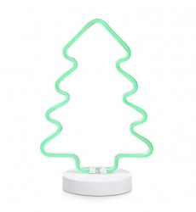 Decoratiune luminoasa LED alba/verde din metal Vegas Markslojd