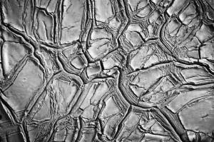 Tapet din hartie cu fibre de nailon Dried Clay Rebel Walls
