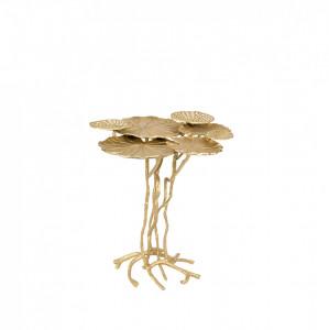 Masuta aurie din aluminiu Lily Multi Gold White Label