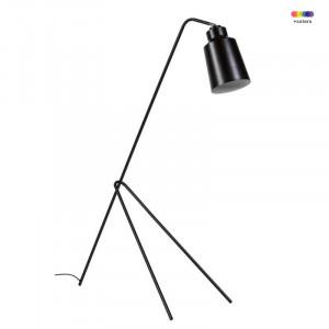Lampadar negru din metal 158 cm Montgo Black Somcasa