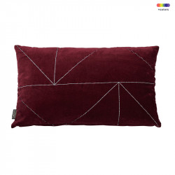 Perna decorativa dreptunghiulara rosie din bumbac 30x50 cm Malina Red Pear LifeStyle Home Collection