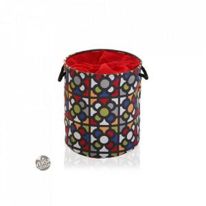 Cos de rufe multicolor din poliester 35x40 cm Urbano Laundry Mini Versa Home