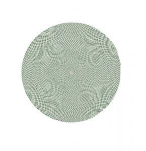 Covor verde din PET reciclat 100 cm Rodhe La Forma