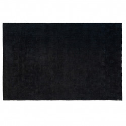 Covor negru din viscoza si poliester 200x300 cm Brent LifeStyle Home Collection