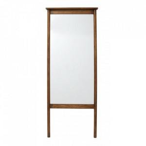 Oglinda dreptunghiulara maro din lemn 70x172 cm Wasia Nordal