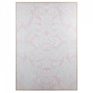 Tablou multicolor din lemn din arbore de cauciuc 100x140 cm Shapes Santiago Pons
