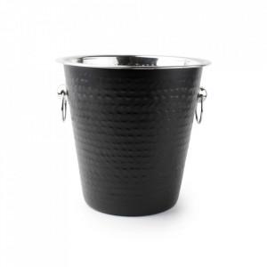Frapiera neagra din inox 21 cm Black Bar Cooler Aerts