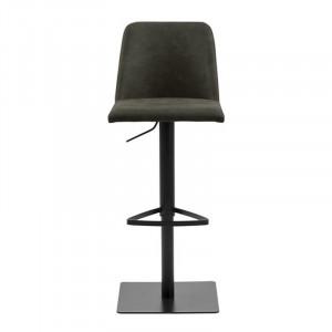 Scaun bar oliv/negru din textil si metal Avanja Preston Actona Company