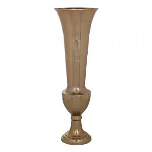 Vaza aurie din aluminiu 100 cm Dionne Richmond Interiors