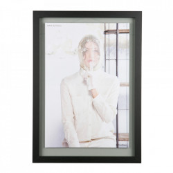 Rama foto neagra din MDF 50x70 cm Shift Be Pure Home