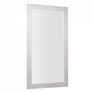 Oglinda dreptunghiulara bej din MDF 99x178 cm Ella Ixia