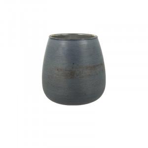 Suport din sticla pentru lumanare 10 cm Mori Dusty Blue Lifestyle Home Collection