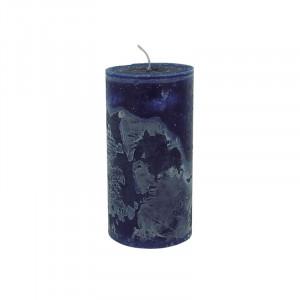 Lumanare albastru inchis din ceara parafinica 20 cm Michel LifeStyle Home Collection